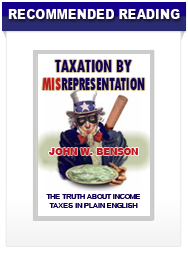 Taxation by Misrepresentation: The truth about taxes in plain english