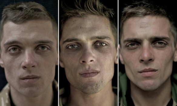 Photographs Of Veteran's Face Before and After Afghanistan War | Patriots and Paulies (Politics & News)