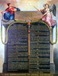 The secular French Revolutionary Declaration of the Rights of Man.