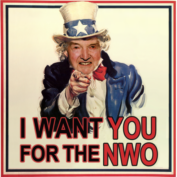 Rockefeller Wants YOU for the New World Order | Patriots & Paulies Politics and News